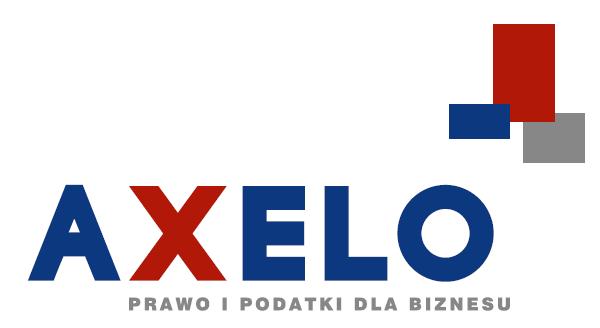 Webinarium AXELO: Nowe obowiązki i obciążenia w podatkach dochodowych – wybrane zagadnienia.
